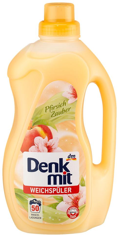 Ополаскиватель Denkmit Pfirsich 1,5л 50 стирок