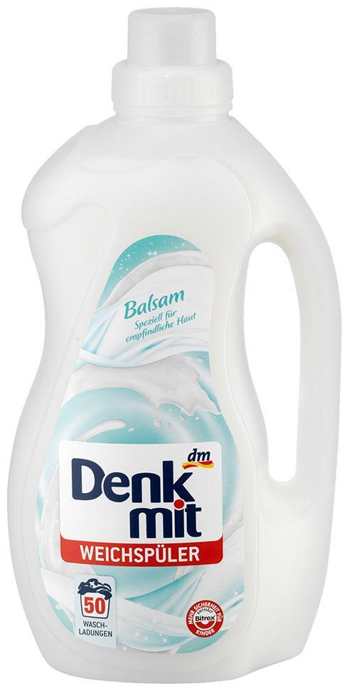 Ополаскиватель Denkmit бальзам для белья 1,5л 50 стирок