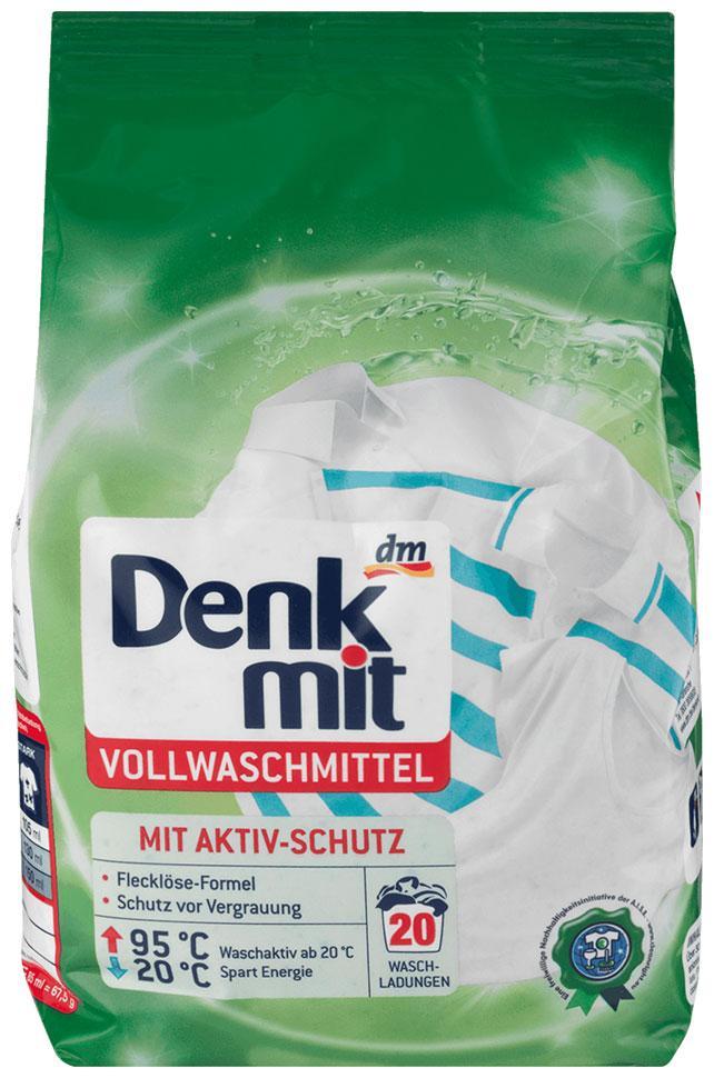 Стиральный порошок Denkmit для белого белья 1,35кг 20 стирок новый