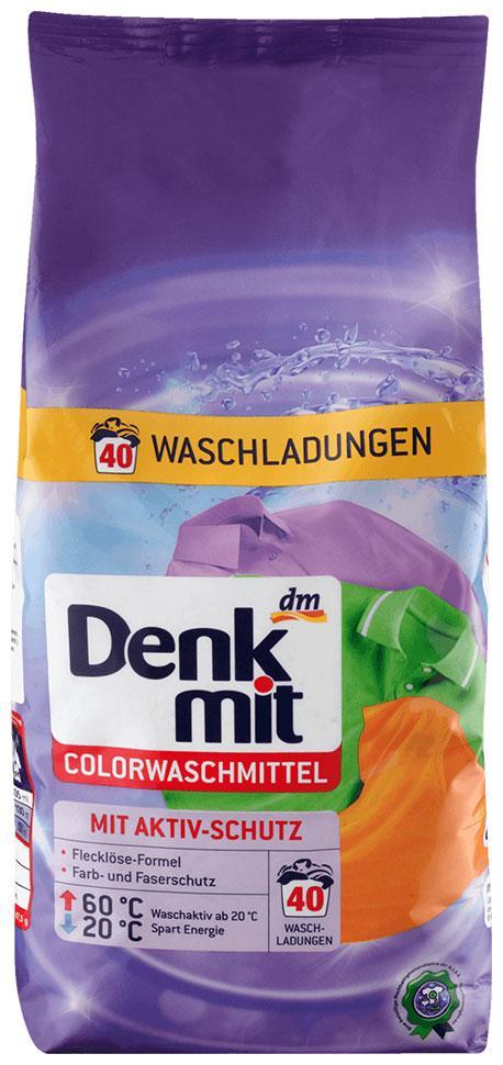 Стиральный порошок Denkmit для цветного белья 2,7кг 40 стирок новый