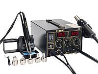Термоповітряна паяльна станція W.E.P 968DA++