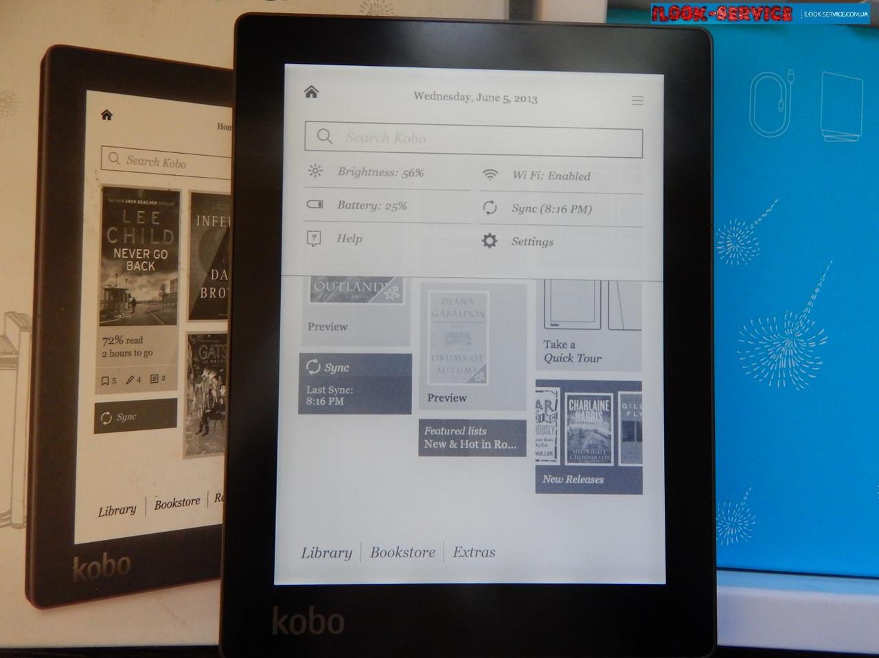 Электронная книга Kobo Aura N514 Black