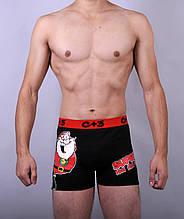 Мужские трусы - боксеры C+3 #1137  XL  черный