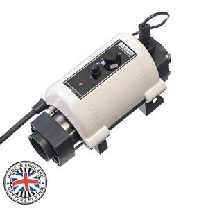 Электронагреватель для бассейна Elecro Nano Spa 6 кВт 230В (Incoloy/Steel), фото 2