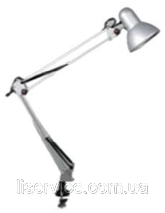 Настольный светильник Ultralight DL 075, 60W E27, срібло, фото 2