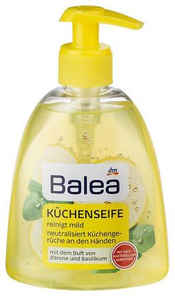 Жидкое мыло для рук Küchenseife лимон и базилик 300мл, фото 2