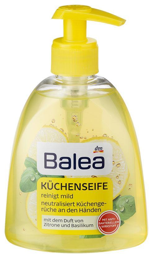 Жидкое мыло для рук Küchenseife лимон и базилик 300мл