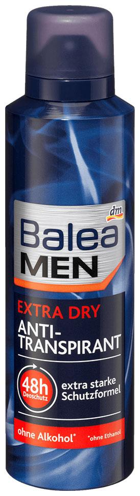 Деоспрей антиперспирант Balea Men Extra Dry 200мл