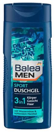 Гель для душа Balea Men Sport 3 в 1 охлаждающий 300мл, фото 2