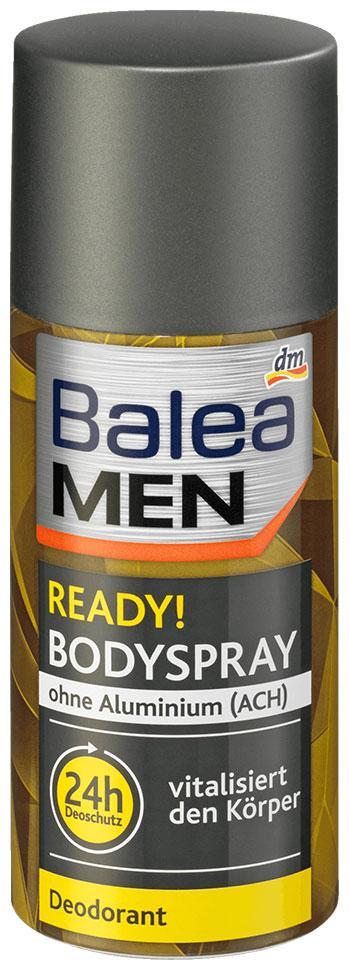 Дезодорант спрей Balea Men Ready! 150мл