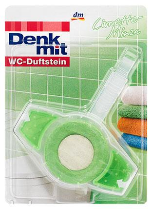 Гигиенический блок для туалета с таблеткой и гелем Denkmit  45гр