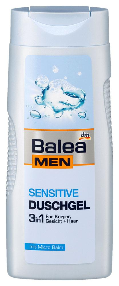 Гель для душа Balea Men Sensitive 300мл