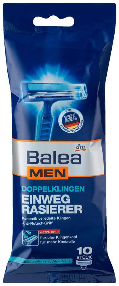 Станки для бритья одноразовые Balea Men 10шт