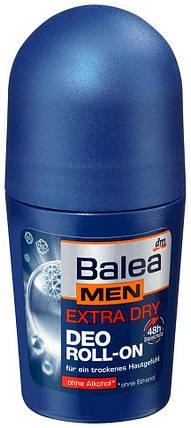 Роликовый дезодорант Extra Dry Balea Men 50мл, фото 2