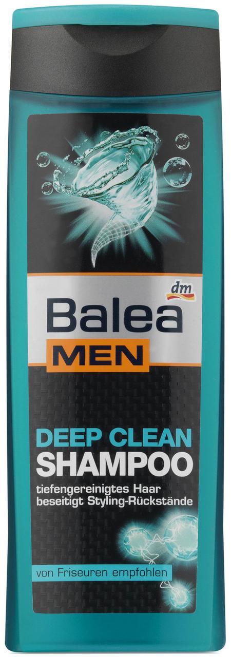 Шампунь Balea Men Deep Clean глубокая очистка кожи головы 250мл