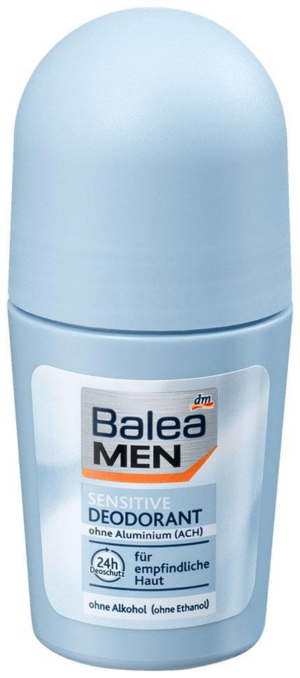 Роликовый дезодорант для чувствительной кожи Balea Men 50мл 48 часов защиты