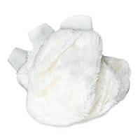 Белая меховая рукавица для чистки и нанесения составов Koch Chemie (999272)