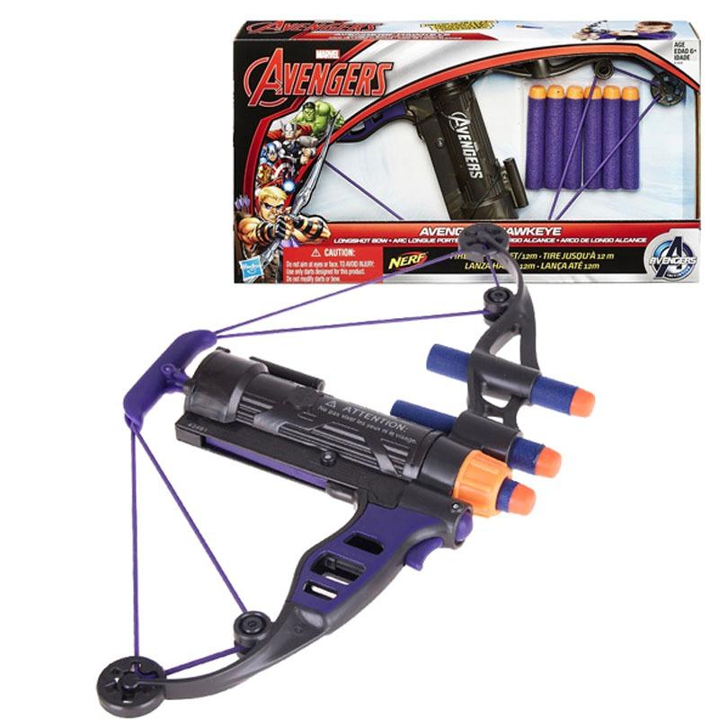 Игрушечное оружие Hasbro Лук-арбалет 12М Соколиного Глаза из к\ф Мстители от Nerf