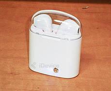 Блютуз наушники i7S TWS с зарядным кейсом, фото 2