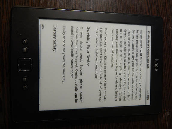 Электронная книга Amazon Kindle 5, фото 2
