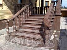 Лестницы на заказ из гранита, фото 3