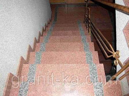 Элементы лестниц из гранита, фото 2