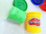 Тесто для лепки Master Do, 4 банки х 50г. (TMDB-01-03), фото 4