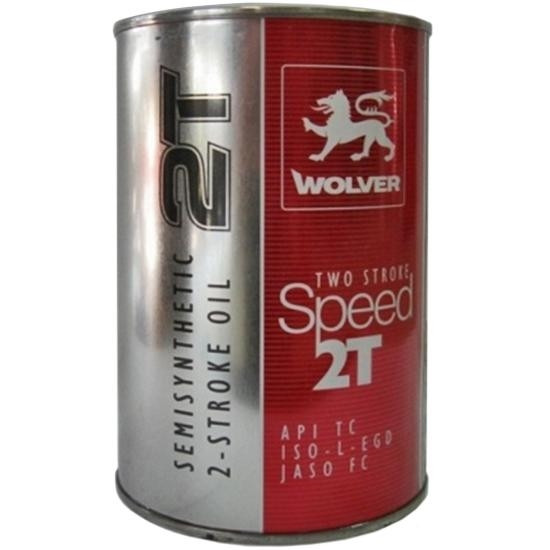 WOLVER TWO STROKE SPEED 2T, API TC 1л