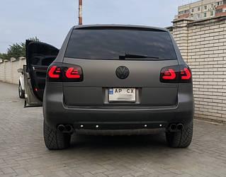 Стопы фонари тюнинг оптика Volkswagen Touareg