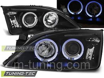 Тюнинг оптика передние фары Ford Mondeo MK3 черные