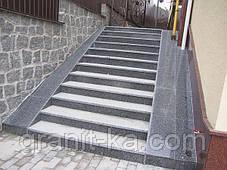 Лестница с площадкой из гранита, фото 2
