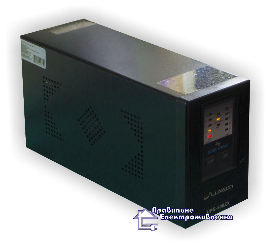 ДБЖ для котла Luxeon UPS-500ZX ( 300Вт, 12В ) - Правильне електроживлення в Львове