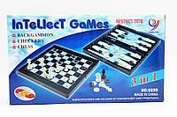Шахматы 8899 36шт2 3в1, шашки, нарды, в коробке 3218см