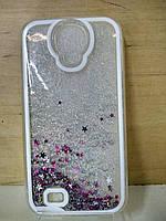 Силиконовый чехол с водой Samsung S4 (I9500)