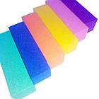 Бафики Шлифовочные для Ногтей Разных Цветов, фото 4