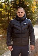 Куртка зимняя мужская Nike Sportswear Down Fill Windrunner Jacket Черная 928833-010