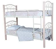 Кровать Лара Люкс Вуд двухъярусная  190х90, черная