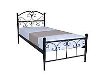 Кровать Патриция односпальная  200х90, бежевая