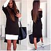 Темно-серое платье трансформер Mira (Код 165)