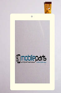 "Оригинальный сенсор (Тачскрин) для планшета 7"" Аqprox Cheesecake APPTB703 30pin (184х104mm) (Белый)"