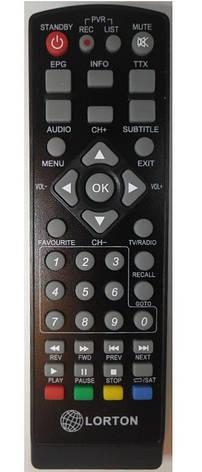 Пульт ДУ для LORTON S2-33,S2-33 mini, S2-33CL, S2-55 maxi, T2-10, T2-12, T2-12, фото 2