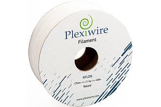 Пластик в котушці Nylon 1,75 мм 1.1кг/400 м, Plexiwire, Білий