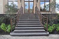Производство лестниц из гранита