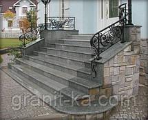 Производство лестниц из гранита, фото 2