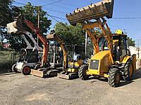Аренда. Услуги мини экскаватора в Одессе