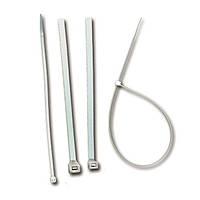 Стяжка кабельная прозрачная 75х2,2 полиамид 6.6, ELEMATIC
