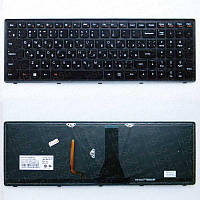 Клавиатура (RU) Lenovo G500s, G505s, S500, S510p, Z510, black, подсветка