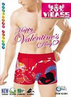 В продаже новые модели мужских боксеров ко дню Святого Валентина