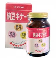 Fine Natto Kinase  НаттоКиназа, для очищения сосудов и поддержки сердца, 240 таб.