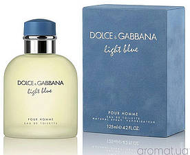 Dolce & Gabbana Light Blue Pour Homme (Дольче Габбана Лайт Блю Пур Хом), мужская туалетная вода, 125 ml